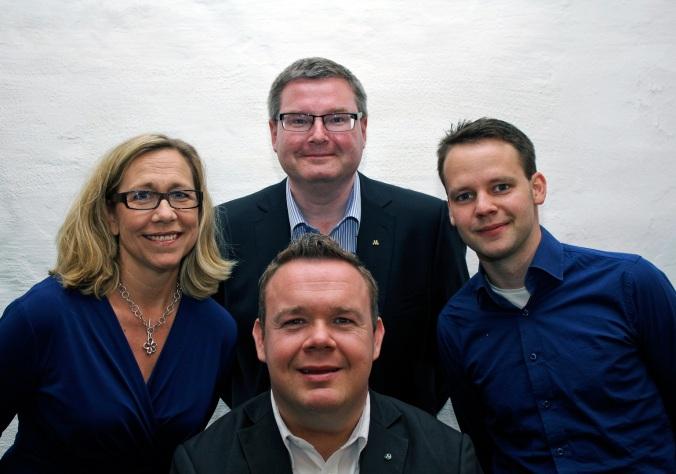 Jonas Ransgård, Helene Odenjung, David lega, Rickard Nordin