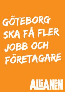 Göteborg ska få fler jobb och företagare