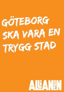 Göteborg ska vara en trygg stad